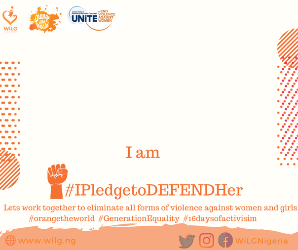 IPledgetoDEFENDHer Campaign